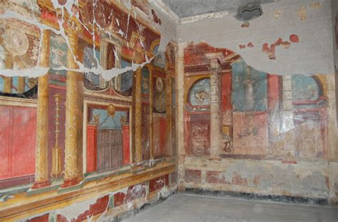 Painting A Wall villa oplontis wall paintings open conted ox ac uk beta