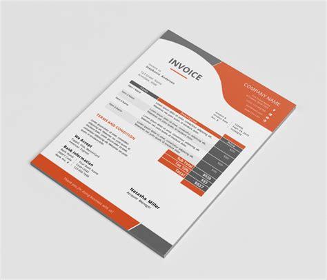 invoice template graphic design freelance invoice like a pro