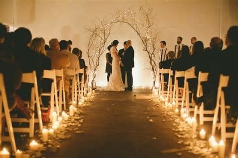 Wedding Aisle Hallelujah by Isle For Outside Dusk Wedding Wedding Ceremony Ideas