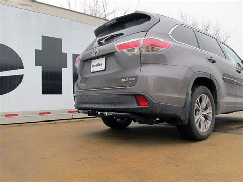 Tow Hitch For Toyota 2016 Toyota Highlander Trailer Hitch Hitch