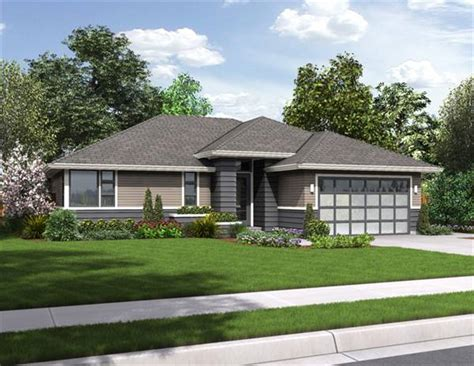 modern ranch home plans palmer 3087 2 bedrooms and 2 5 baths the house designers