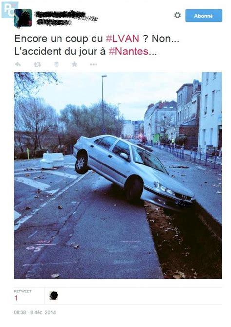 Nantes L Image Du Jour D Une Voiture En 233 Quilibre Sur