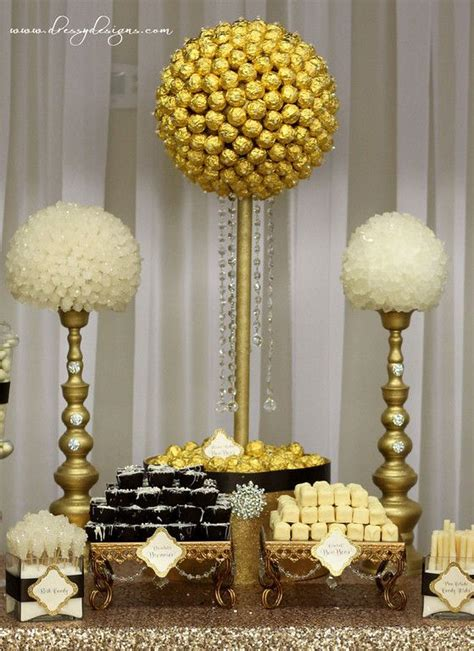 Gold Buffet Table Best 25 Gold Dessert Table Ideas On Pinterest Gold