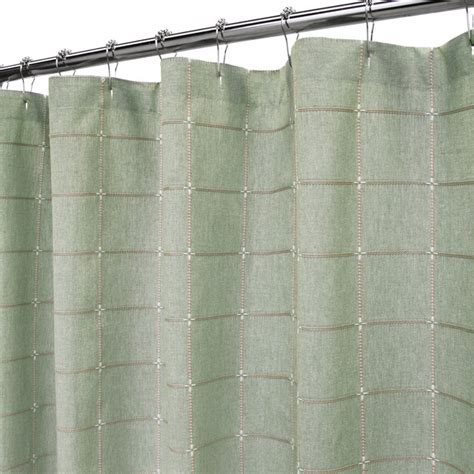 sage shower curtains durham square shower curtain 72 quot x72 quot dark sage shower