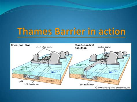 thames barrier design construction ppt river thames powerpoint presentation id 2810971