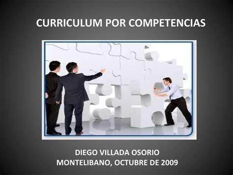 Diseño Curricular Por Competencias Ppt Curriculum Por Competencias