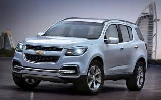 Chevrolet Trailblazer Ss Chevy Ss Trailblazer 2015 Specs Price Release Date And