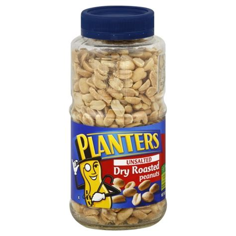 Planters Unsalted Roasted Peanuts by Planters Peanuts Roasted Unsalted