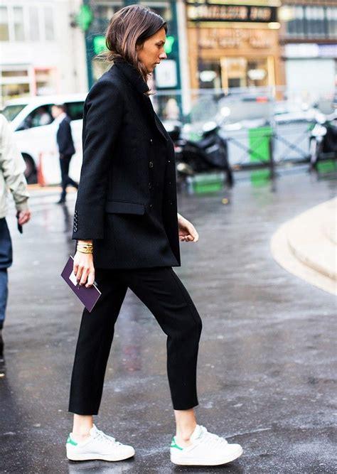 Adidas Neo Navy Kombin 9 easy wardrobe upgrades to make in 2015 black cropped