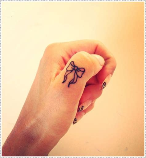 girl bow tattoo designs 101 small tattoos for that will stay beautiful