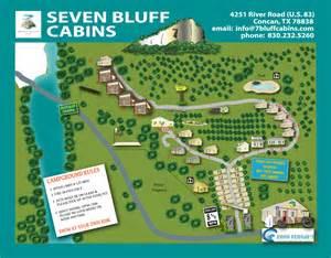 frio river cabins seven bluff cabins and rv in concan