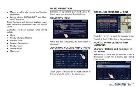online auto repair manual 2011 nissan leaf seat position control nissan leaf model ze0 series 2011 service manual pdf