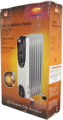 oil filled radiant heater canada singfun 174 electric oil filled radiator heaters radiant