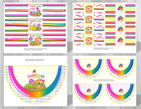 printable carnival party decorations carnival party supplies carnival theme party decorations