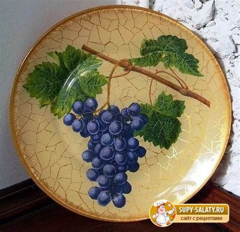 Decoupage Plate - best 20 decoupage plates ideas on