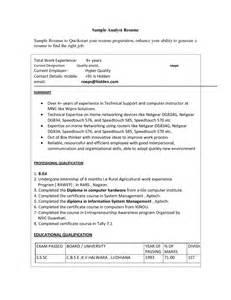 sle resume summary statement quality resume sainde org