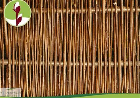 sichtschutz für gartenzäune 541 zaun weide design