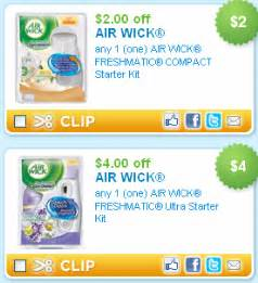 Air Freshener Coupons Canada 6 New Air Wick Coupons July 2015 2017 2018 Best Cars