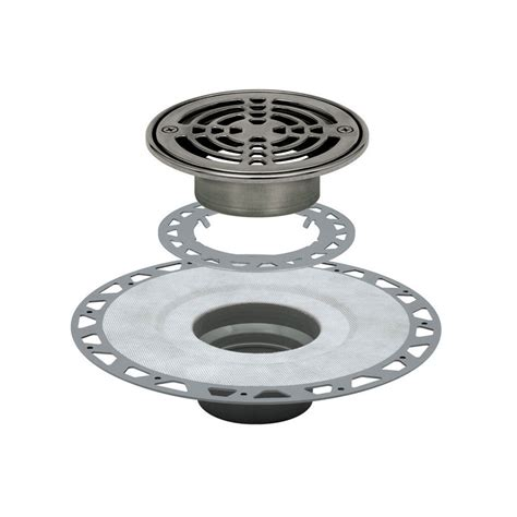Lowes Shower Drain by Shop Schluter Systems Kerdi Stainless Steel Stainless