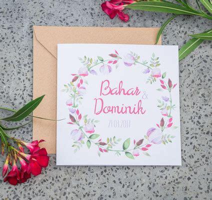 Postkarte Drucken Welches Papier by Blumenkranz Juhu Papeterie Liebevoll Gestaltete