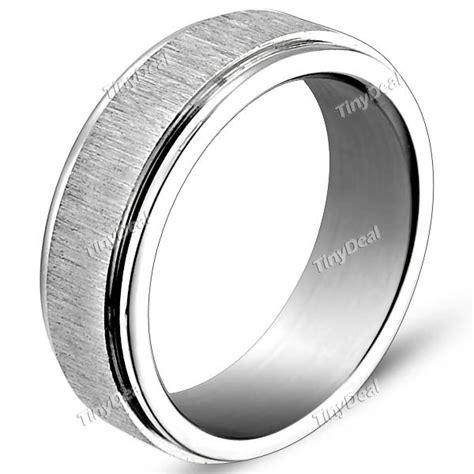 titanium steel finger ring jewelry for sliver naf