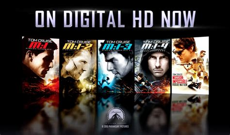 film streaming mission impossible 5 mission impossible franchise trailer debut