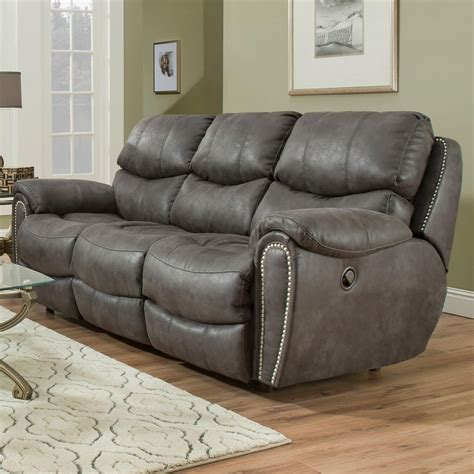 power reclining sofa with usb franklin richmond power reclining sofa with usb charging