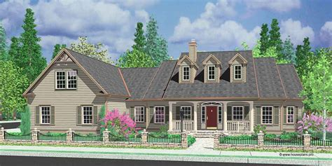 One Story Colonial House Plans by Colonial House Plans Dutch Southern And Spanish Home Styles