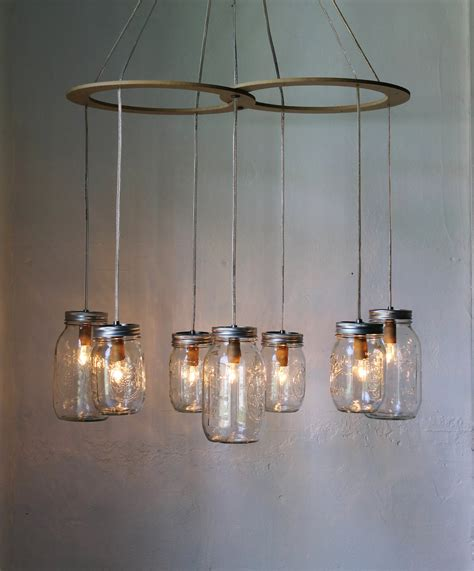mason jar hanging lights mason jar chandelier hanging mason jar lighting fixture
