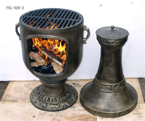 Cast Iron Chiminea Grates by Cast Iron Chiminea Outdoor Fireplace Buy Cast Iron
