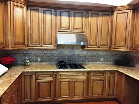 glazed maple kitchen cabinets mocha glazed maple kitchen cabinets