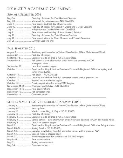 Cmu Academic Calendar Colorado Mesa Calendar Calendar