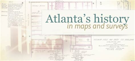 How To Find Property Survey Records Gls Archives Database Of Atlanta Land Survey Records