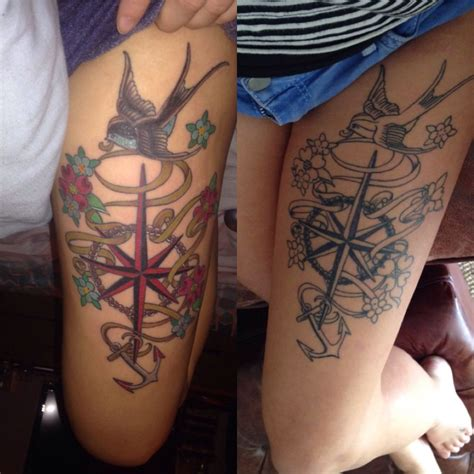 girly anchor tattoos my nautical anchor compass girly tattoos