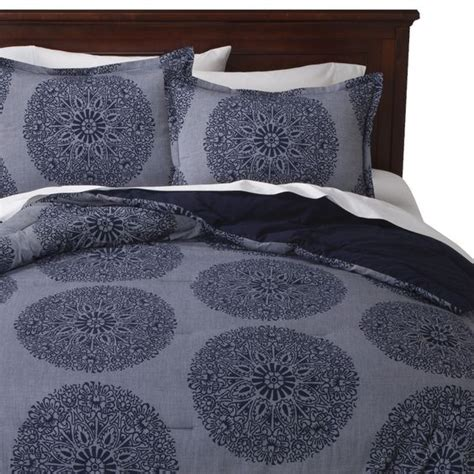 Threshold Bedding by Target Comforter And Chambray On