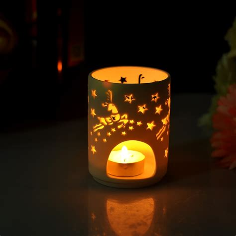 Ceramic Candle Holders by Ceramic Jar For Tealight Candle Ceramic Candle Holder