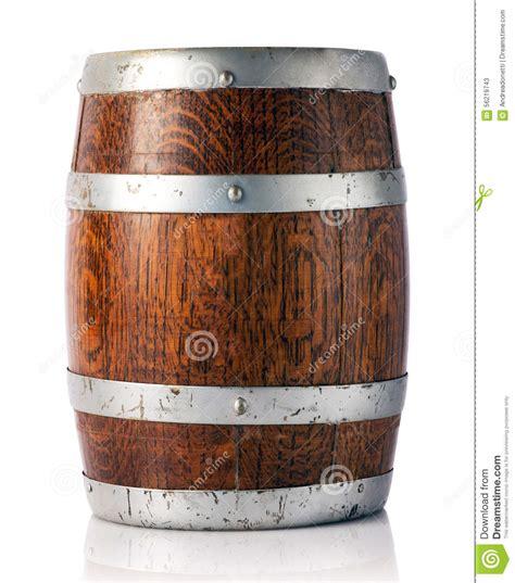 wine barrel storage oak barrel for storage of wine beer or brandy stock photo