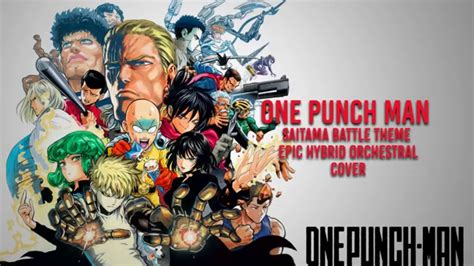 theme line one punch man one punch man saitama theme ost epic orchestra cover youtube