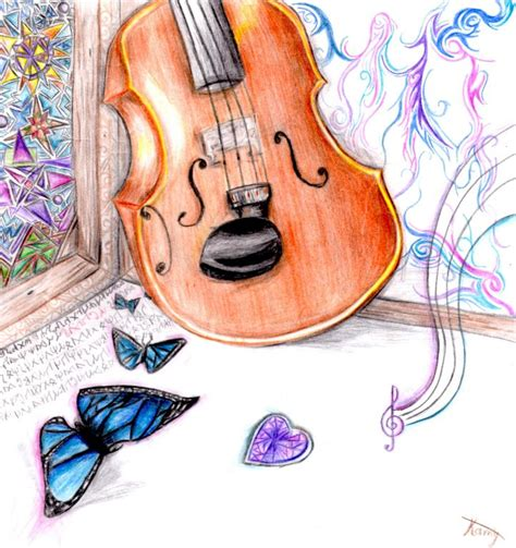 imagenes a lapiz de violines violin maria camila londo 241 o artelista com