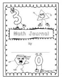 free math journal covers by teacher tam teachers pay