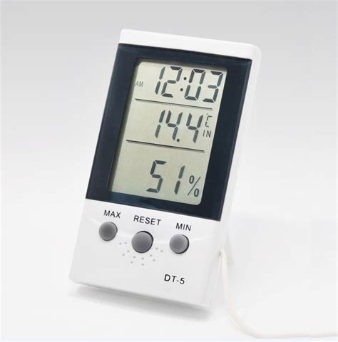 ringder dt 5 indoor outdoor thermometer for room