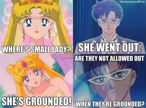 Sailor Moon Meme - lol oh king endymion serenity endymion royal family