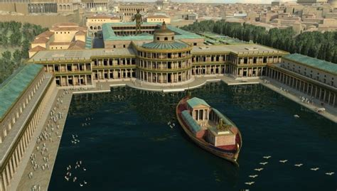 the golden house domus aurea in its shown via superb 3d animations