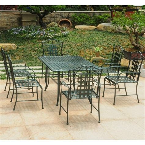 7 patio dining set in verdigris 3455 hd vg
