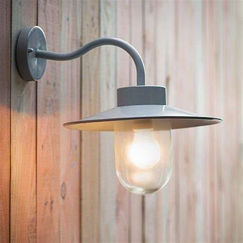 swan neck outdoor lighting flint