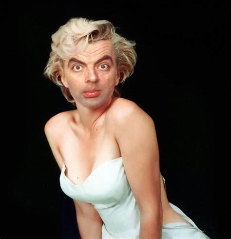 Wash Your Hair Before Coloring - bean monroe mr bean fan art 10384712 fanpop