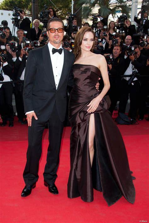 Cannes Festival Brad Pitt And Get Shady by Brad Pitt Et La Sublime Lors De La Mont 233 E
