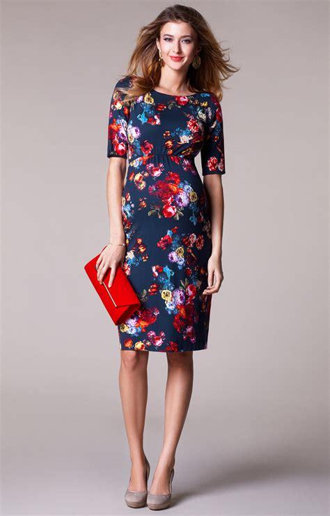 Nisa Moda Pink By U Shop maternity shift dress midnight garden maternity