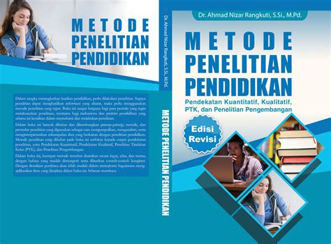 free design cover buku cover buku metode penelitian pendidikan by vianmaster on