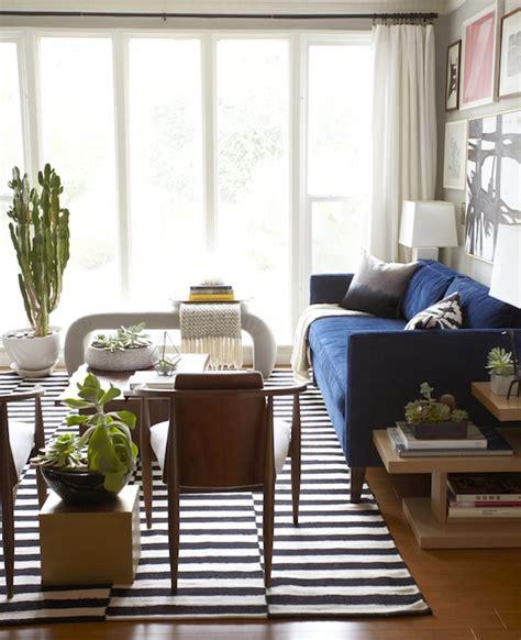 Ikea rug eclectic living room benjamin moore half moon crest emily henderson